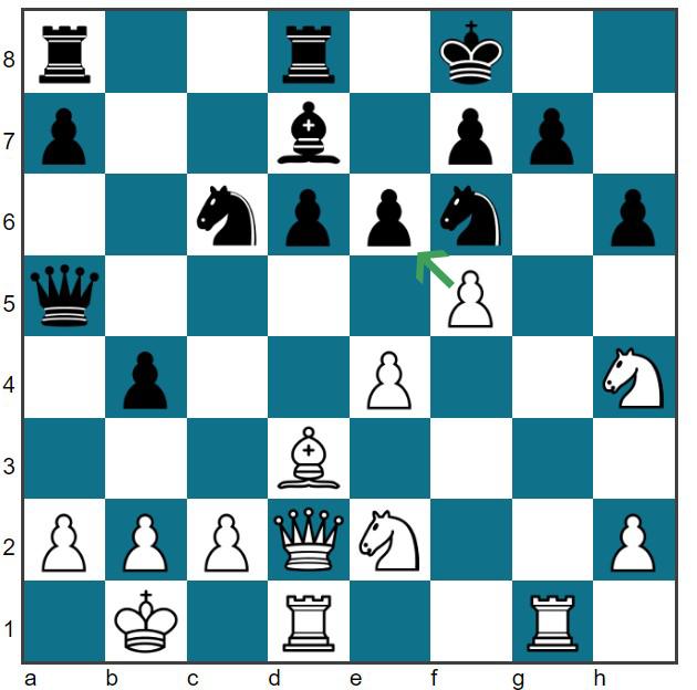 19. Rxg7!!Kxg7 20. Rg1+ Kh7 21. fxe6