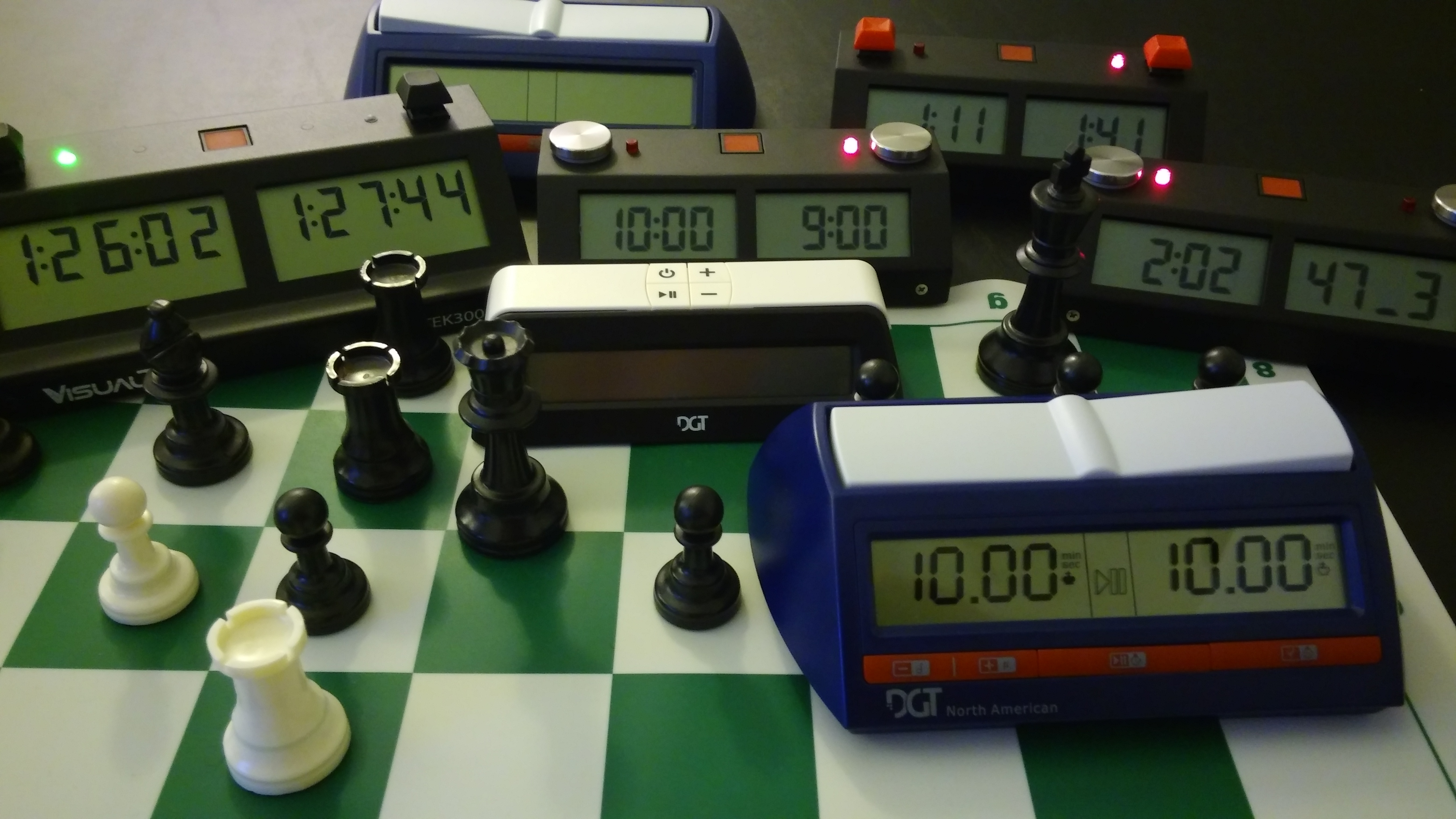 Bobby Fischer's chess clock