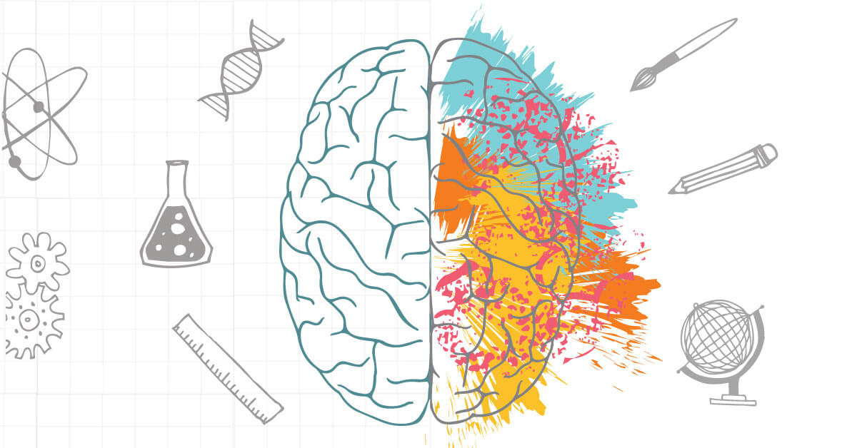 It exercises both sides of the brain